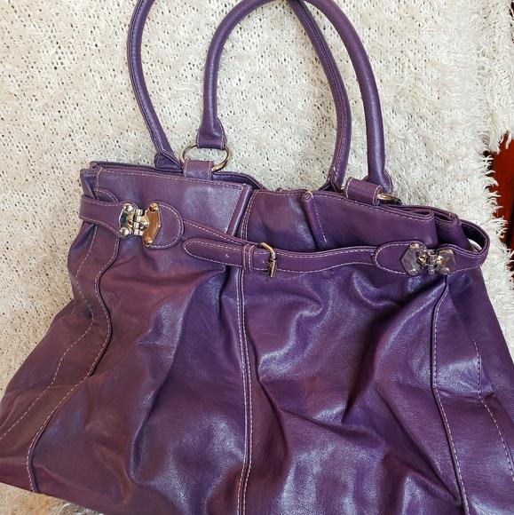 💜 Large Soft Purple Hobo Bag 💜